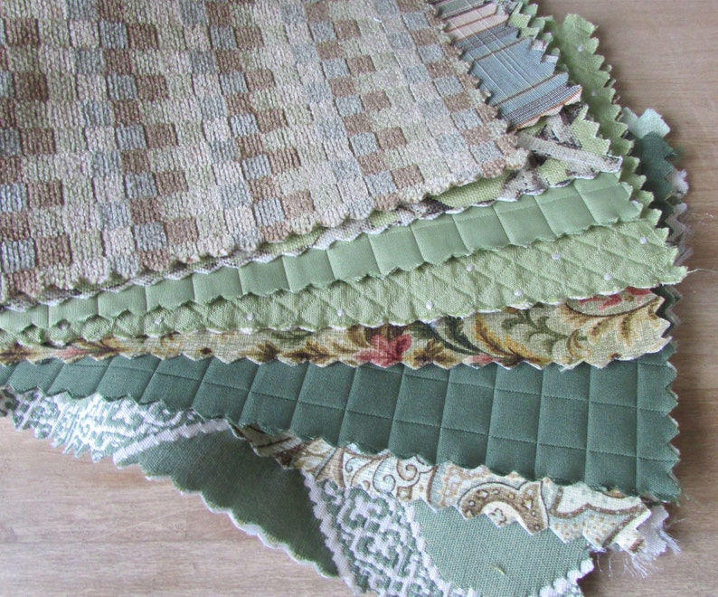 Fabric Samples Fabric Scraps Sewing Needle Craft Carole Etsy