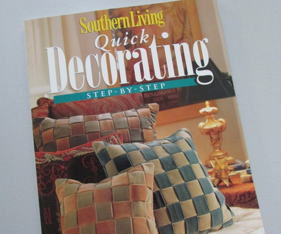 Great Southern Living Decorating Book Home Decor Ideas DIY Home | Etsy