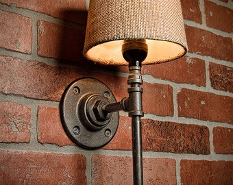 Industrial Lighting - Lighting - Rustic Light - Steampunk Lighting - Bar Light - Industrial Sconce - Sconce - Wall Light - FREE SHIPPING