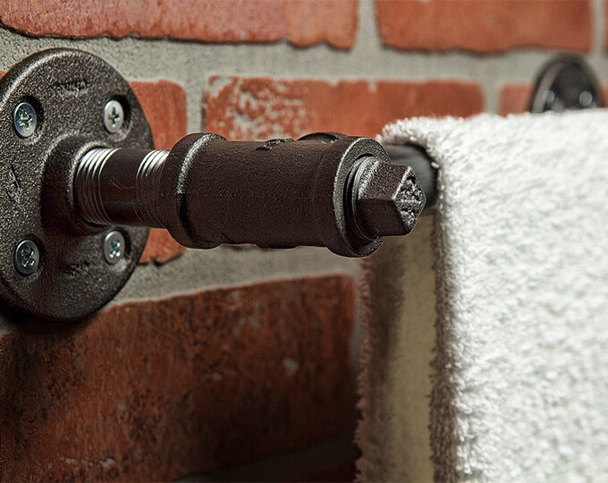 Industrial Towel Rod - FREE DOMESTIC SHIPPING