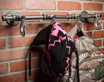 Farmhouse Coat Rack - Hat Hook - Coat Rack - Hat Rack - Towel Rack - Wall Decor - Bath Decor - Home Decor - Rustic - Hanger - FREE SHIPPING