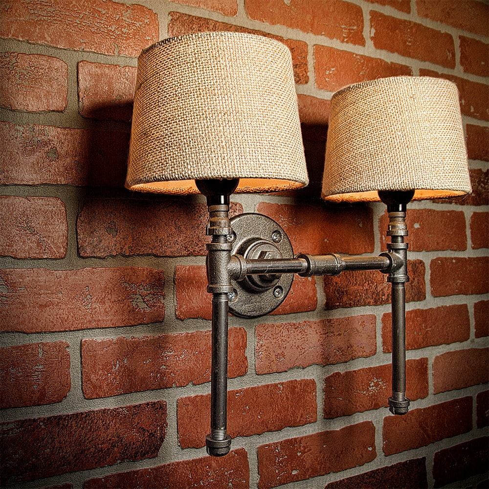 Farmhouse Lighting - Lighting - Rustic Light - Steampunk Lighting ...