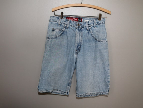 5c8a58a3 Vintage 90s Levis Levi's Silver Tab Loose Relaxed Fit Stonewashed Grunge  Light Wash Size 31 Jean