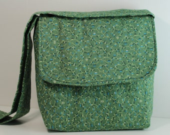 Child's Green Messenger Bag
