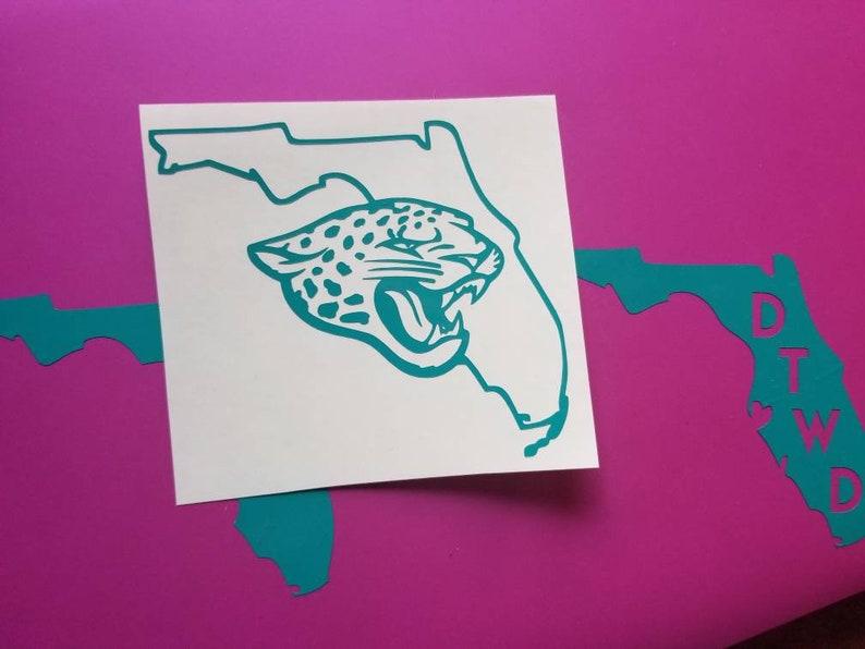 69b7715d Jacksonville Jaguars Decal, Jaguars sticker, Duval decal, Jaguars decal,  yeti, car decal, laptop decal, Jacksonville decal, window sticker