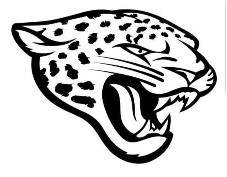 dc6f9003 Jacksonville Jaguars head Decal, Jaguars sticker, Duval decal, Jaguars  decal, car decal, laptop decal, Jacksonville decal, window sticker