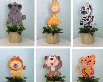 Baby Safari Animal Etsy