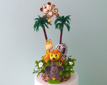 Jungle Baby Shower Decorations Etsy