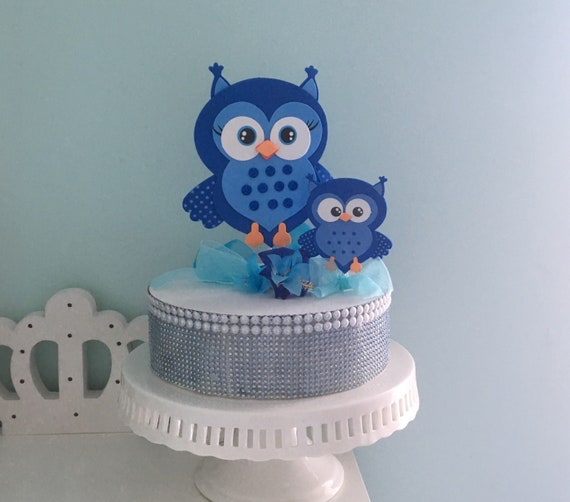 Adorable Owl Baby Shower Centerpiece Foam Decorations For A Etsy