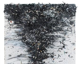 Tornado Painting - Tornado Art - Oil Painting - Tornado #17