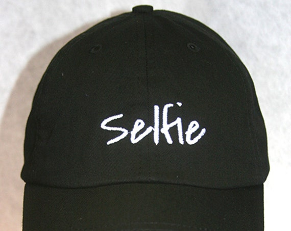 Selfie (Polo Style Ball Black with White Stitching)