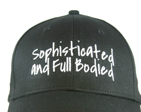 Sophisticated & Full Bodied - Polo Style Ball Cap (available in different colors)