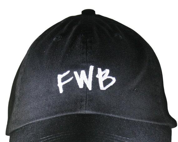 FWB (Polo Style Ball Black with White Stitching)