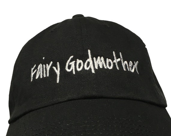 Fairy Godmother (Polo Style Ball Black with White Stitching)