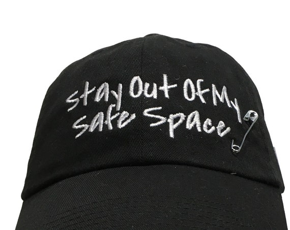 Stay Out of My Safe Space with Safety Pin (Available in Various Color Combos)