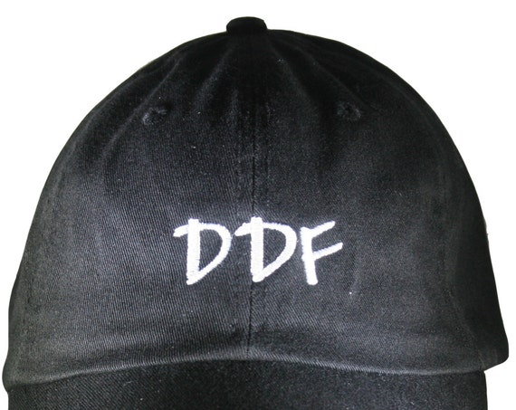 DDF (Polo Style Ball Black with White Stitching)