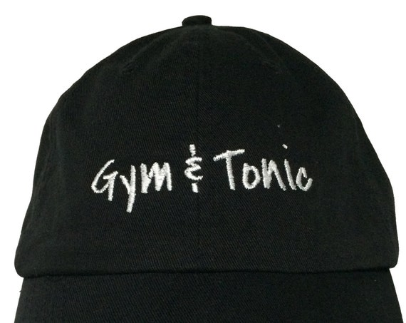 Gym & Tonic - Polo Style Ball Cap (Various colors with White Stitching)