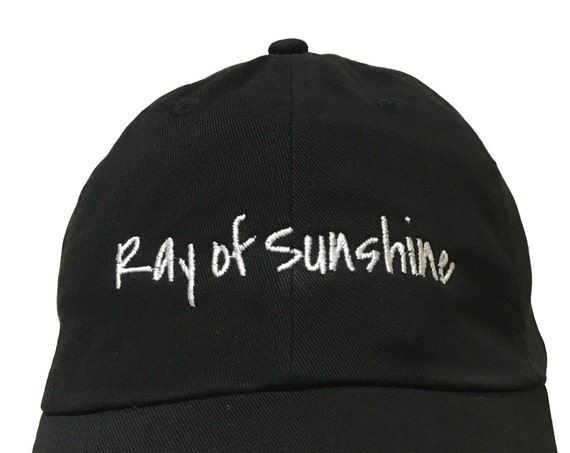 Ray of Sunshine (Polo Style Ball Cap in various colors)