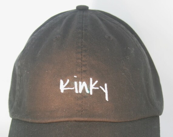 Kinky (Polo Style Ball Black with White Stitching)