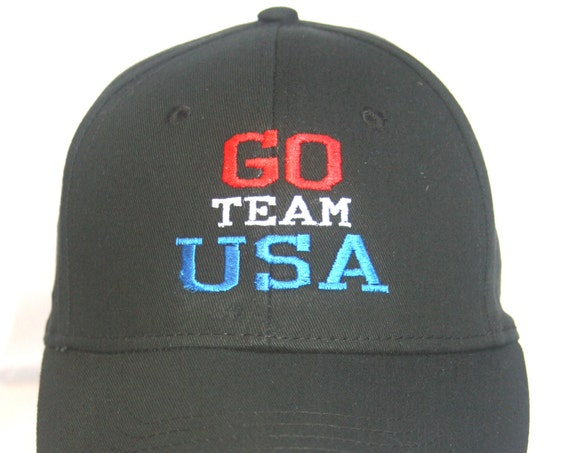 Go Team USA Polo Style Ball Cap