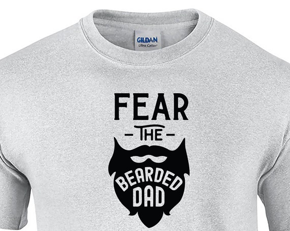 Fear The Bearded Dad (Mens T-Shirt)