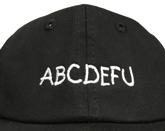 ABCDEFU (Polo Style INFANT Ball Cap in various colors)