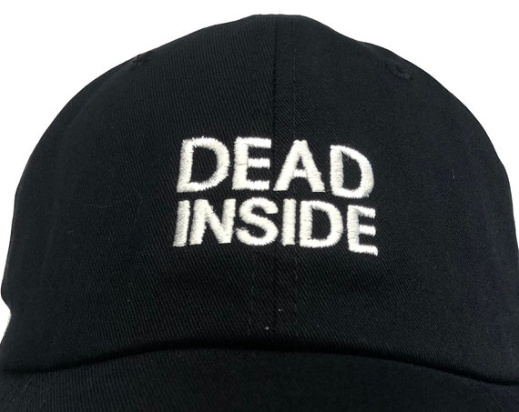 Dead Inside (Polo Style Ball Colors with White Stitching)