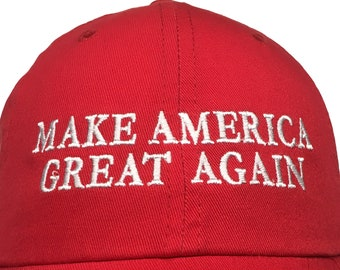 c1c6d2656c8 Make America Great Again Ball Cap (Available in Various Color Combos)