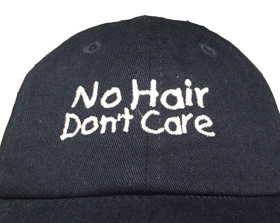 No Hair Don't Care  (Polo Style INFANT Ball Cap in various colors)