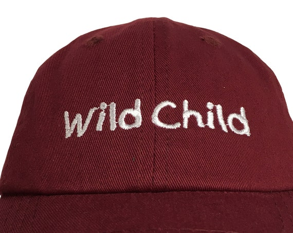 Wild Child (Polo Style INFANT Ball Cap in various colors)