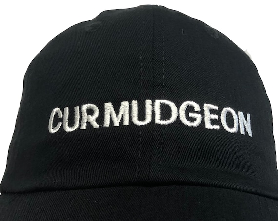 Curmudgeon (Polo Style Ball Colors with White Stitching)