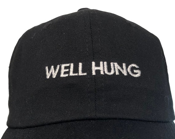 Well Hung (Polo Style Ball Black with White Stitching)