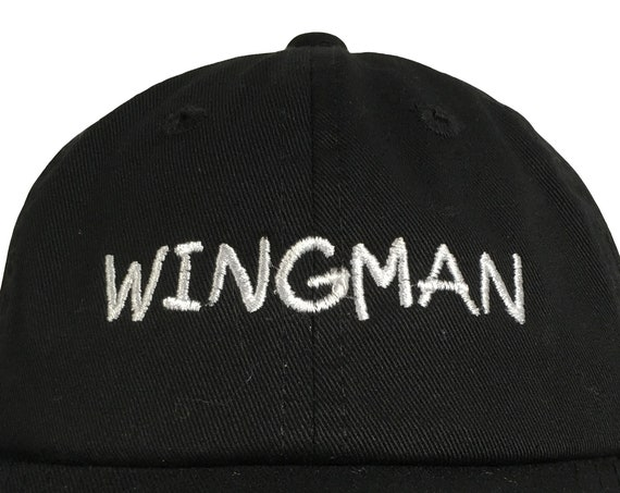 Wingman (Polo Style INFANT Ball Cap in various colors)