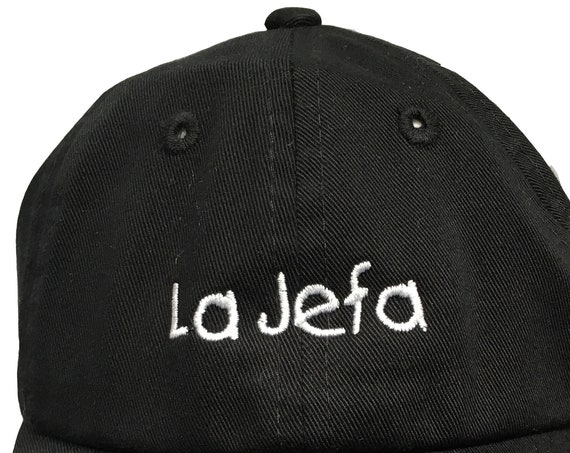 La Jefa  (Polo Style INFANT Ball Cap in various colors)