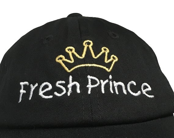 Fresh Prince with Crown (Polo Style INFANT Ball Cap in various colors)