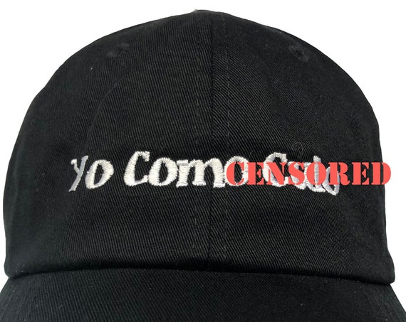 Adults Only - Yo Como Culo - Polo Style Ball Cap (Various Colors with White Stitching)
