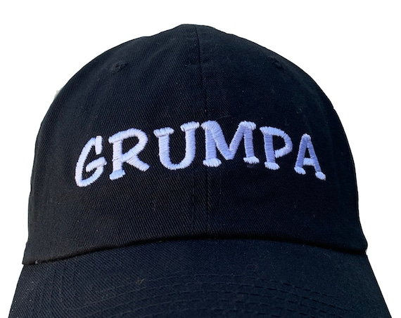 GRUMPA - Polo Style Ball Cap (Available in Various Colors)