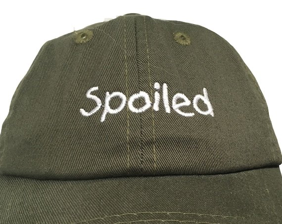 Spoiled (Polo Style INFANT Ball Cap in various colors)