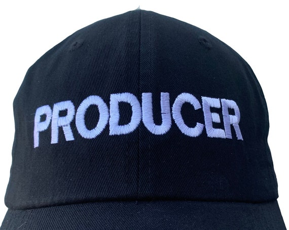 PRODUCER - Polo Style Ball Cap (Various colors with White Stitching)