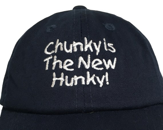 Chunky is the New Hunky! (Polo Style INFANT Ball Cap in various colors)