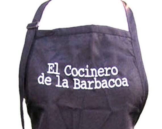 El Cocinero de la Barbacoa (Adult Apron)