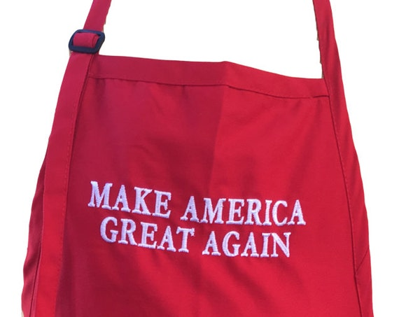 Make American Great Again (Adult Apron in various colors)