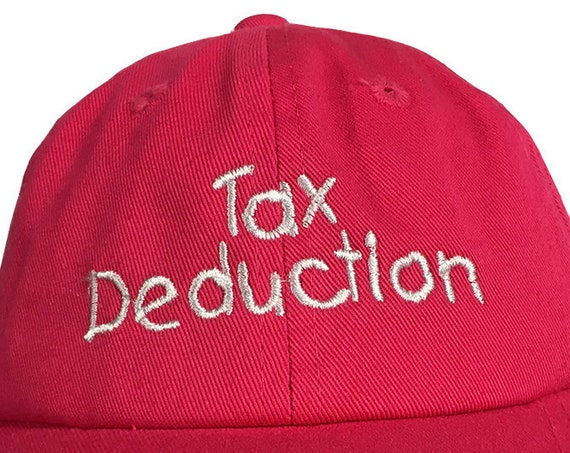 Tax Deduction (Polo Style INFANT Ball Cap in various colors)