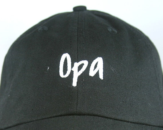 Opa (Polo Style Ball Black with White Stitching)