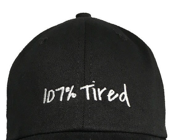 107% Tired (Polo Style Ball Various Colors with White Stitching)