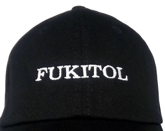 FUKITOL (Polo Style Ball Black with White Stitching)