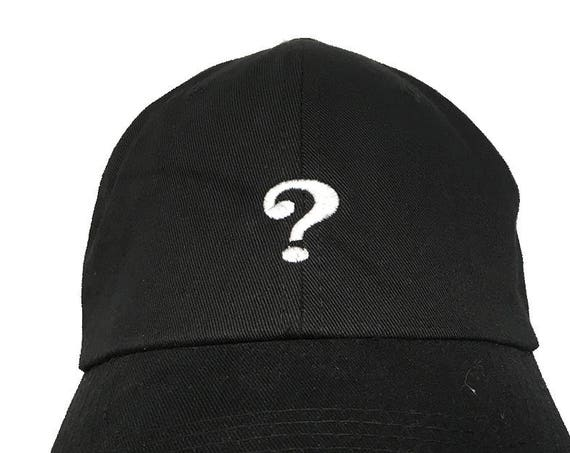 Question Mark (Polo Style Ball Cap available in Colors)