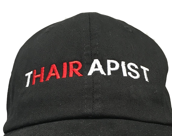 Thairapist (Polo Style Ball Black with White Stitching)
