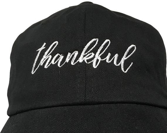 Thankful - Polo Style Dad Cap available in different colors
