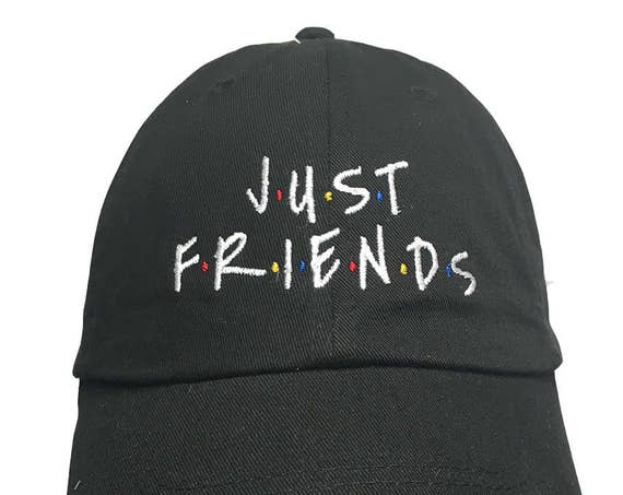 Just Friends  (Polo Style Embroidered Ball Cap)